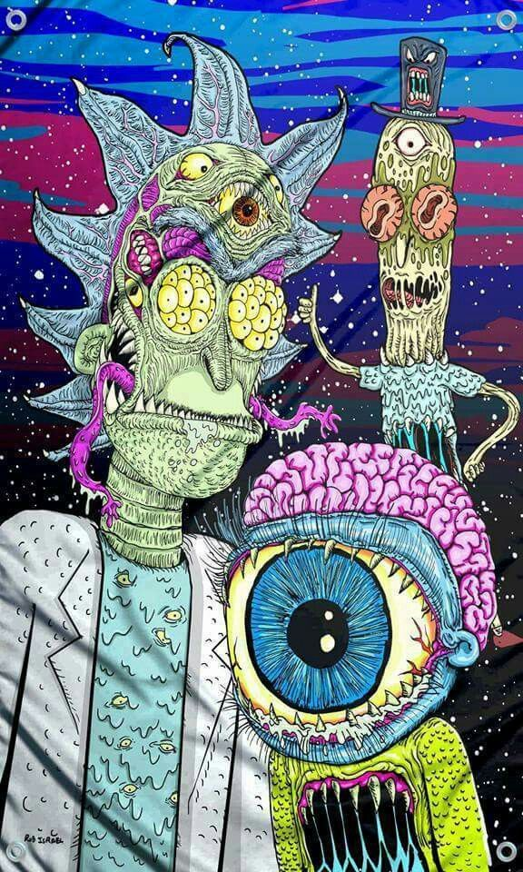 Rick and Morty ♡♡♡ Trip Pinterest Cannabis oil