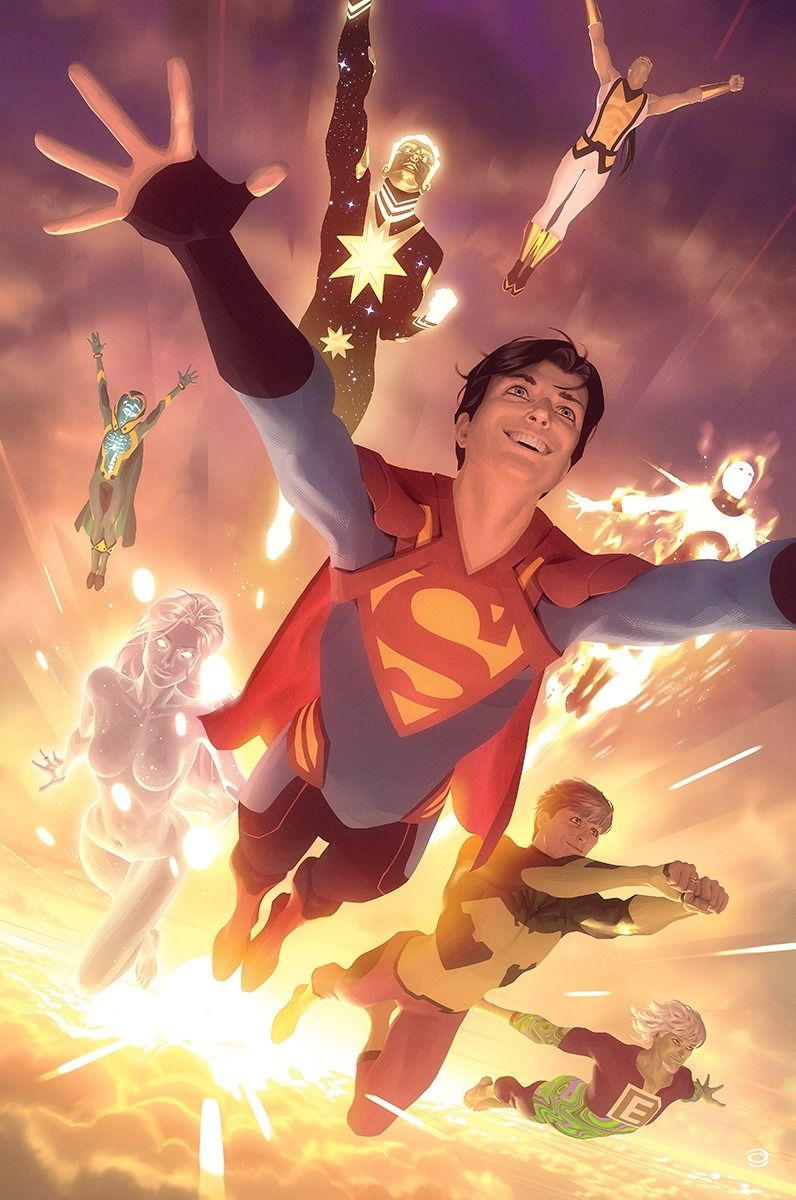 Legion of Super-Heroes #7 variant cover by Alex Garner * in 2020 ...