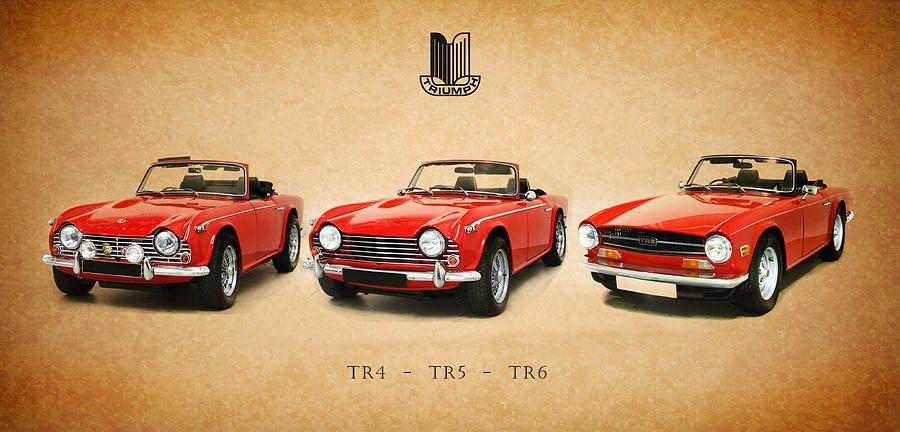 1969 Triumph TR6 Classic Cars Print