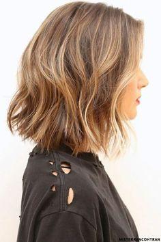 Mid Length Hair Inspiration Pinterest Textured Bob Bobs And Mid
