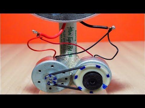 How To Make Free Energy Generator 220V From Washing Machine Motor ...