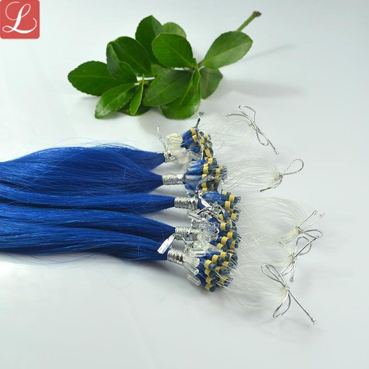 Blue hair micro loop hair extensions best human hair extensions on blue hair micro loop hair extensions best human hair extensions on sale pmusecretfo Image collections