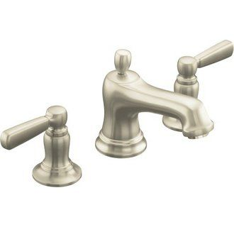 The Kohler Brushed Nickel Direct For Bancroft Widespread Bathroom Faucet With Ultra Glide Valve Technology Free Metal