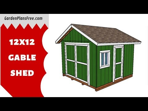 If You Want To Learn More About 12x12 Gable Shed Plans You Have To Take A Close Look Over The Free Plans In The Article Since A In 2020 Shed Shed