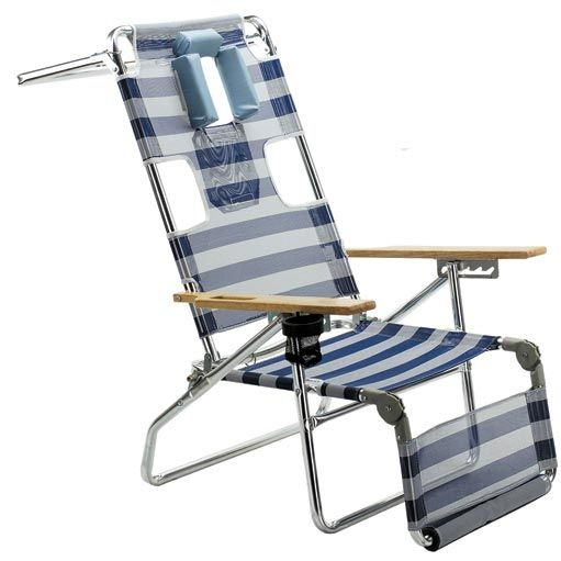 Brookstone Rolling Beach Chair