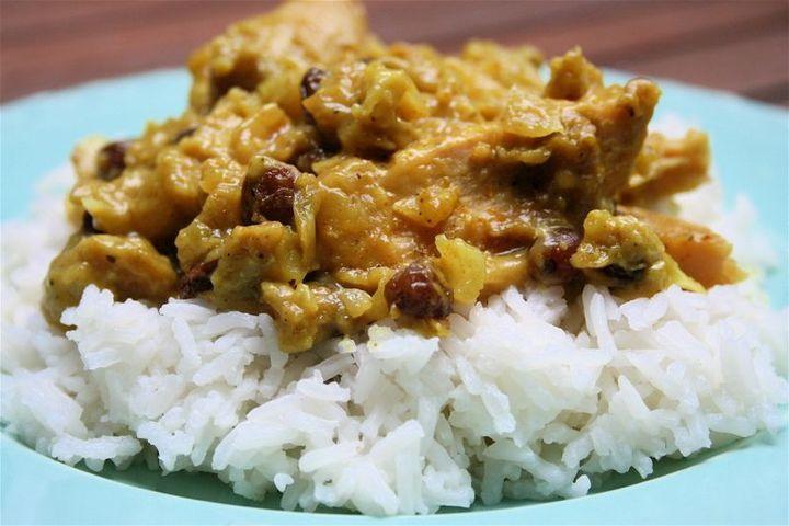 Chicken & Apple Curry photo
