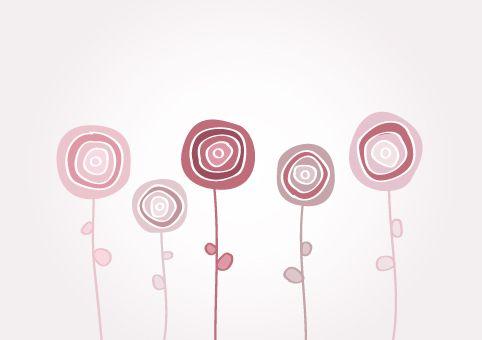 Fiori Stilizzati Stylized Flowers 1 Disegno Di Fiori Fiori Astratti Disegno Fiori