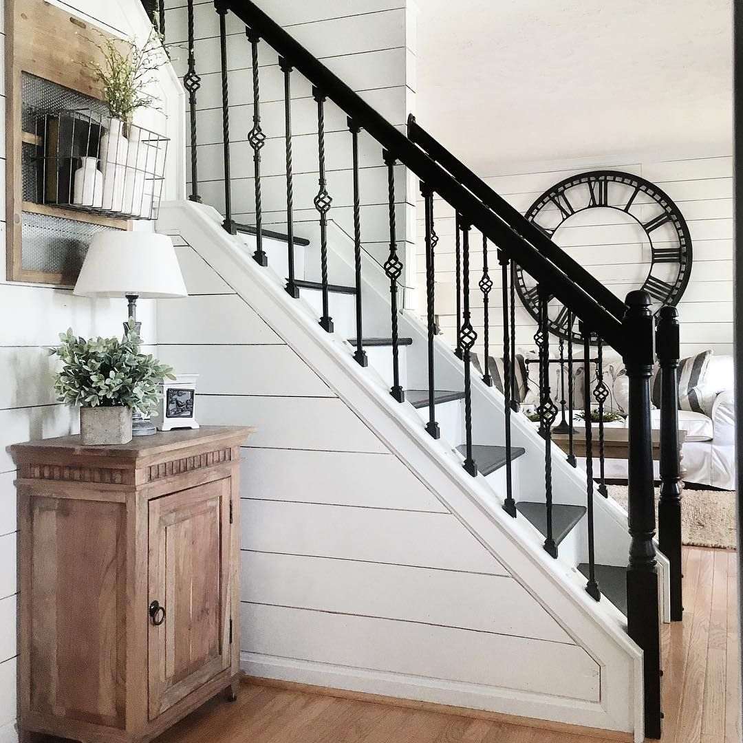 Stair Designs Railings Jam Stairs Amp Railing Designs: Pin By Tina Taylor On Shiplap In 2019