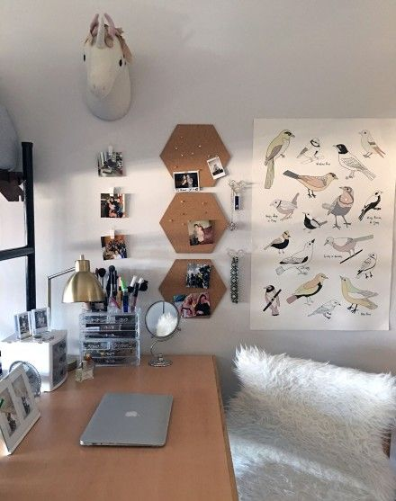 Dorm design depaul university laurie jones home desk decor college decorations also best images in rh pinterest