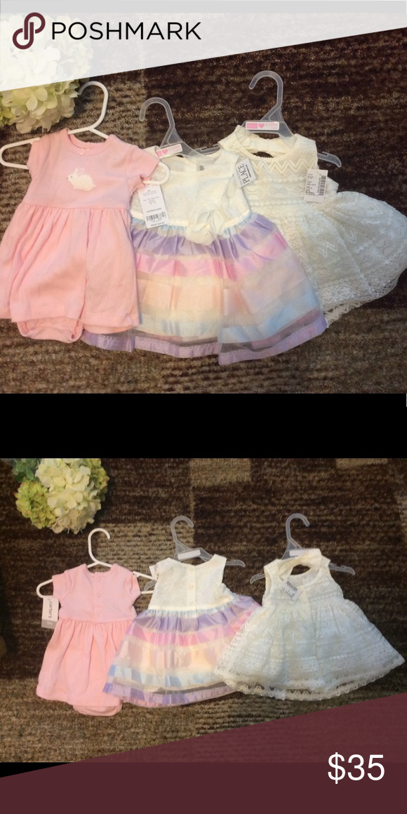 e71c03208f90 The Children Place Dresses for Girls 0-3 months Gorgeous dresses for ...