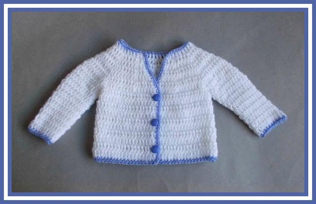Mariannas Lazy Daisy Days Parma Violet Crochet Baby Jacket
