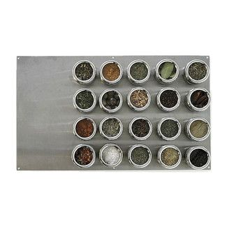 Lipper International Soho 21 Piece Stainless Steel Container & Large Board Set