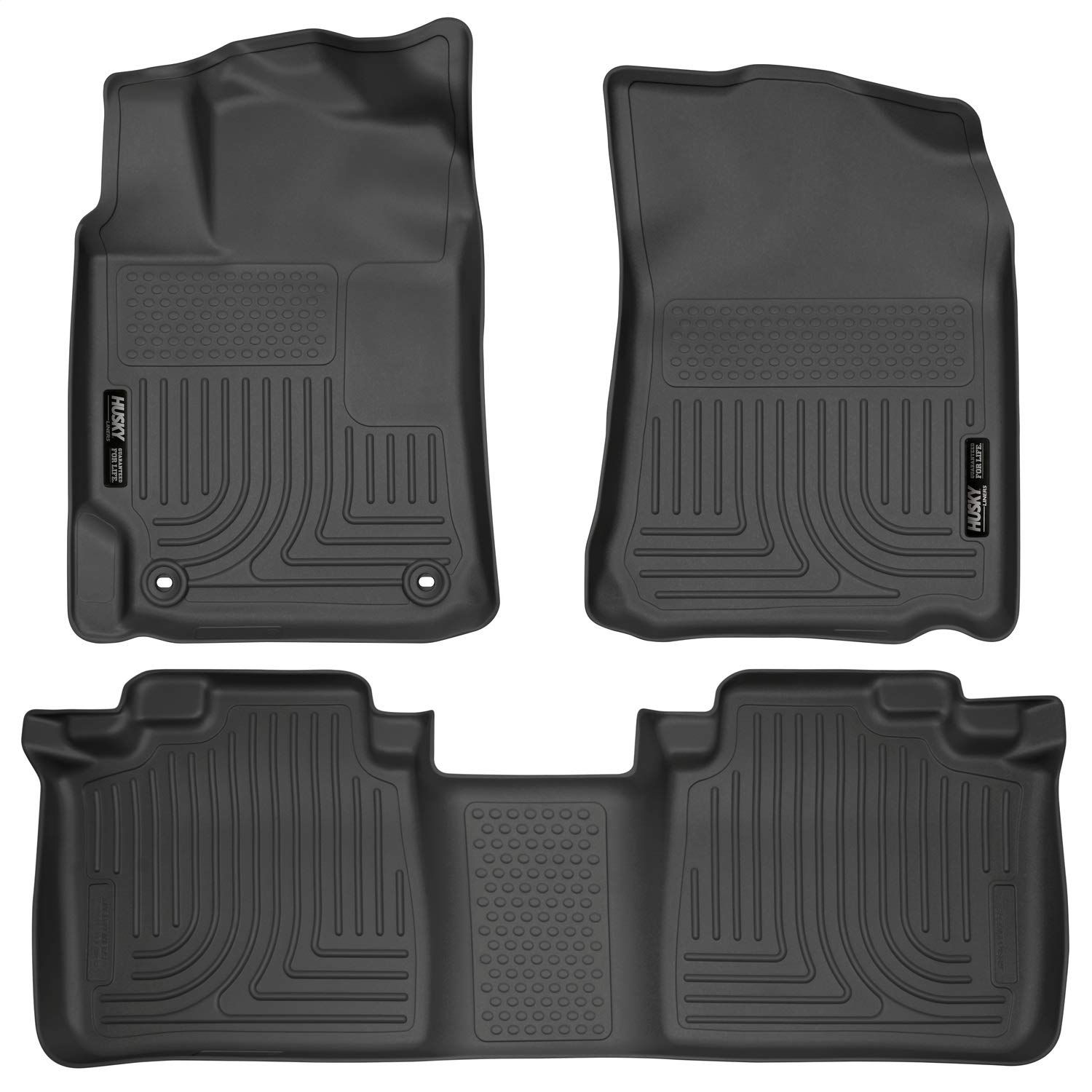 Husky Liners 98901 Black Weatherbeater Front And 2nd Seat Floor Liners Fits 2012 2017 Toyota Camry Visit The Image Link More In 2020 Husky Liners Floor Liners Camry