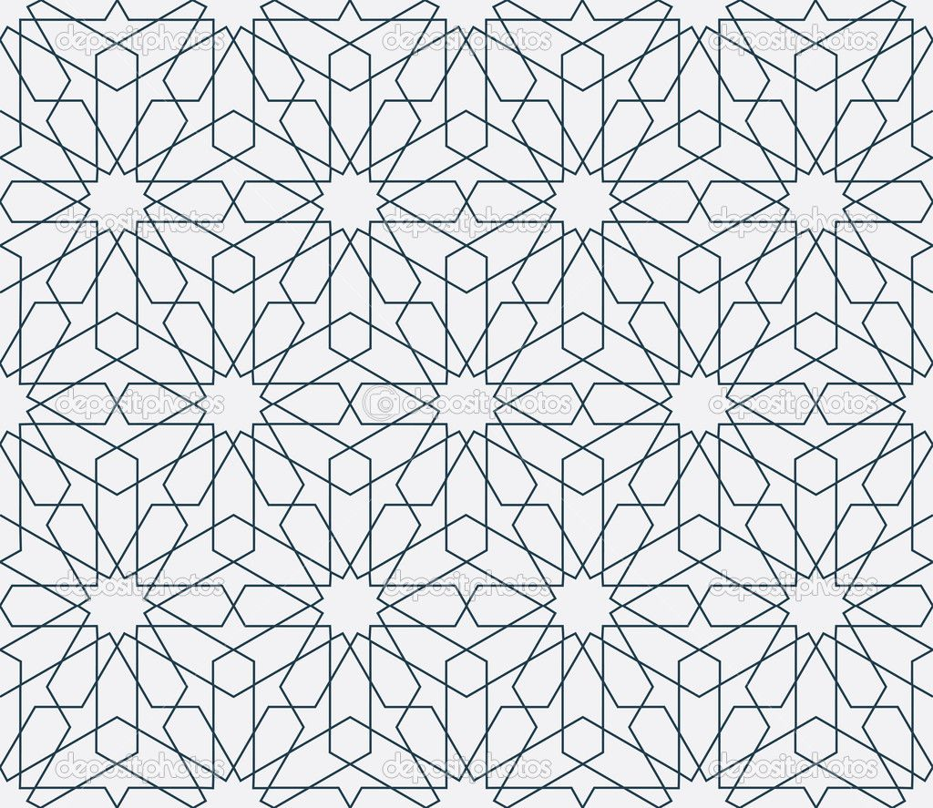 arabic geometric patterns - Поиск в Google | геометрия | Pinterest for Modern Arabic Pattern Vector  183qdu