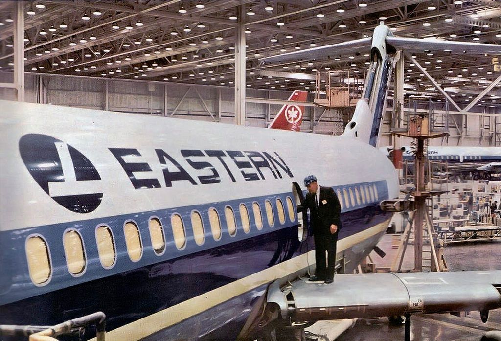 Eastern Air Lines Dc 9 Vintage Airlines Air Canada Flights Air Transat