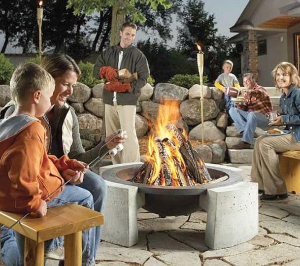 Ideas de como decorar tu patio trasero con una fogata - Como decorar tu patio ...