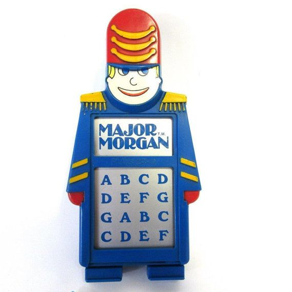 Vintage Major Morgan Playskool Music Organ Toy Works