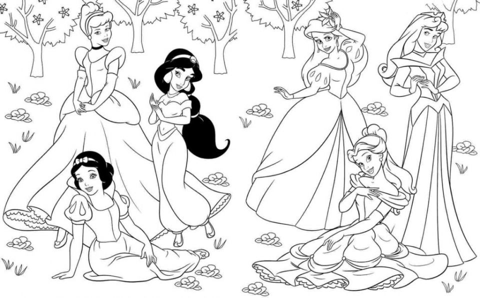 Get This Simple Ariel Coloring Pages to Print for