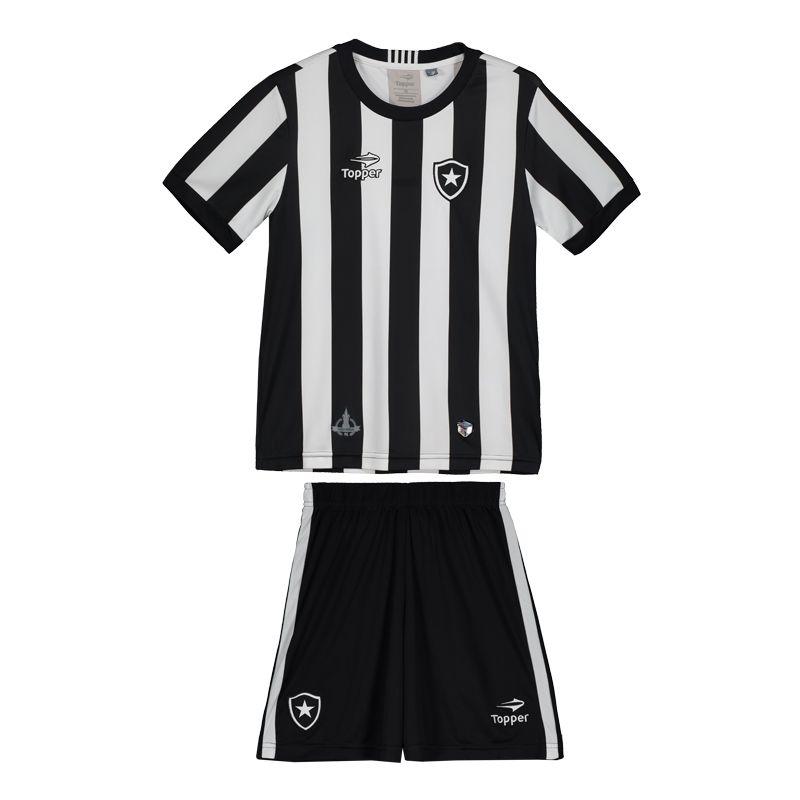 Kit Topper Botafogo I 2016 Juvenil Somente na FutFanatics você compra agora  Kit Topper Botafogo I 7ffb826426422