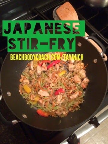 how to make japanese stir fry