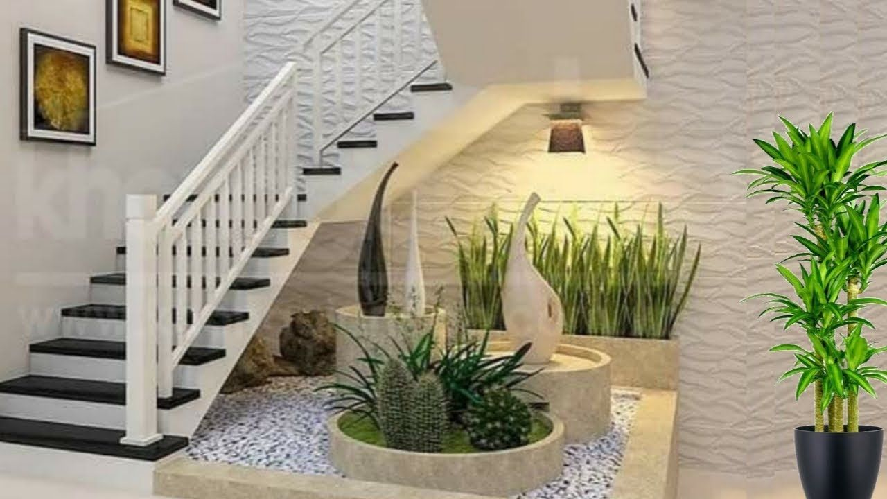Beautiful Staircase With Courtyard Designs Courtyard Design