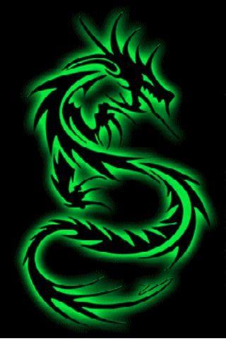 Green Dragon Tribal Dragon Tattoos Dragon Wallpaper Iphone Dragon Images Cool green dragon wallpapers
