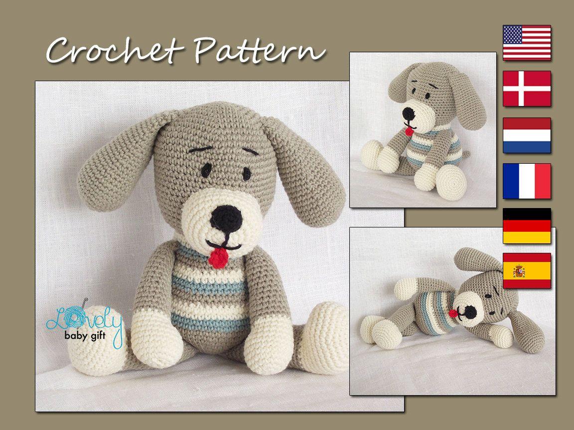 Amigurumi Crochet Pattern Puppy Dog Amigurumi Crochet   hund gehä ...