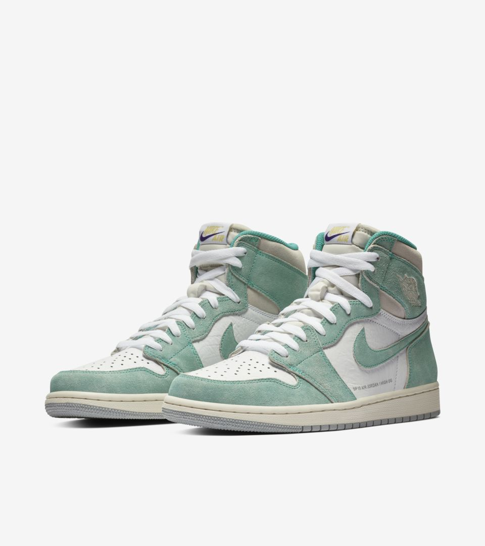 087e62399a9 Air Jordan I (1) Retro 'Turbo Green & White & Light Smoke Grey' -Release  Date: Friday, February 15th 2019 -Price: $160