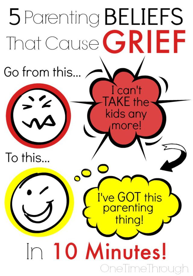 5 Parenting Beliefs That Cause GRIEF | Kid Blogger Network ...