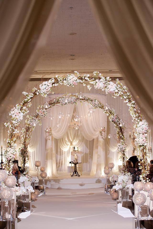 25 Romantic Winter Wedding Aisle Dcor Ideas Winter weddings