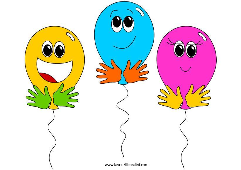 palloncini dove inserire i nomi degli alunni idea da