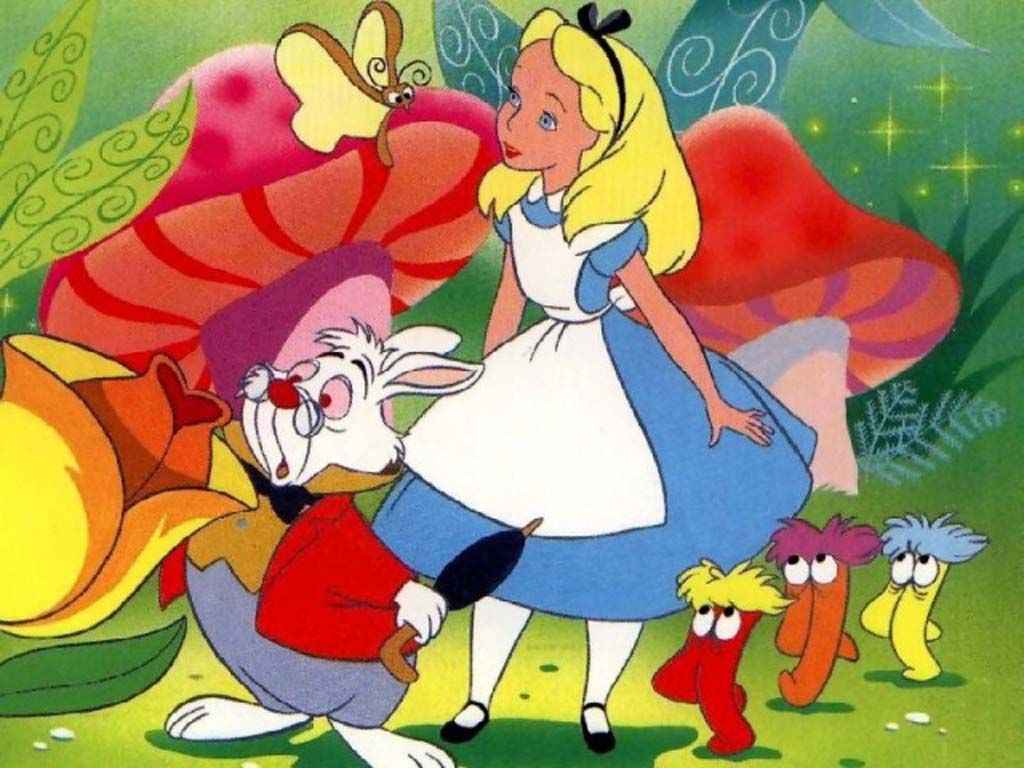Alice In Wonderland Cartoon Characters Top Cartoon