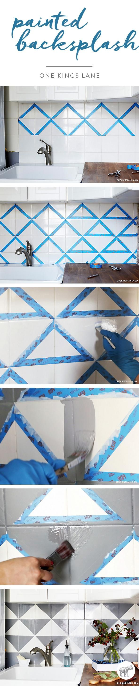 The ultimate DIY project to revamp your tired backsplash!