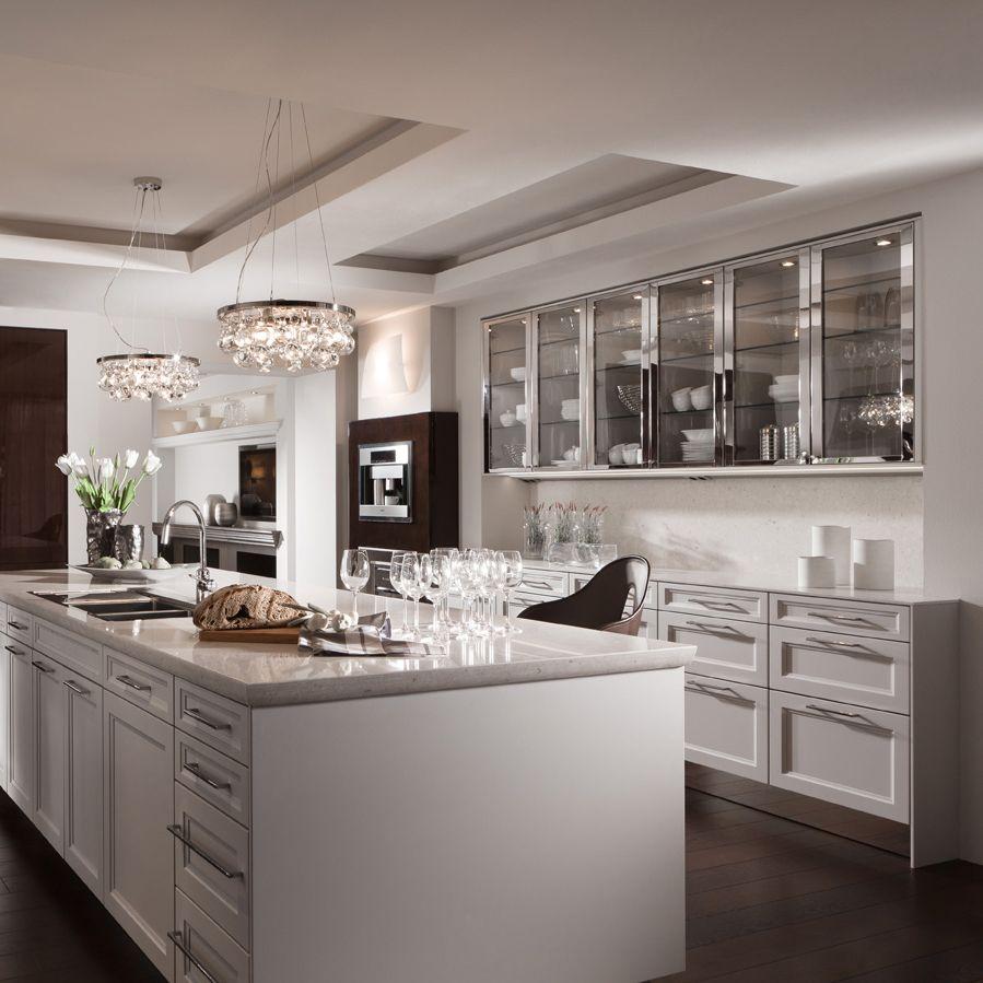siematic sterling grey kitchens pinterest. Black Bedroom Furniture Sets. Home Design Ideas