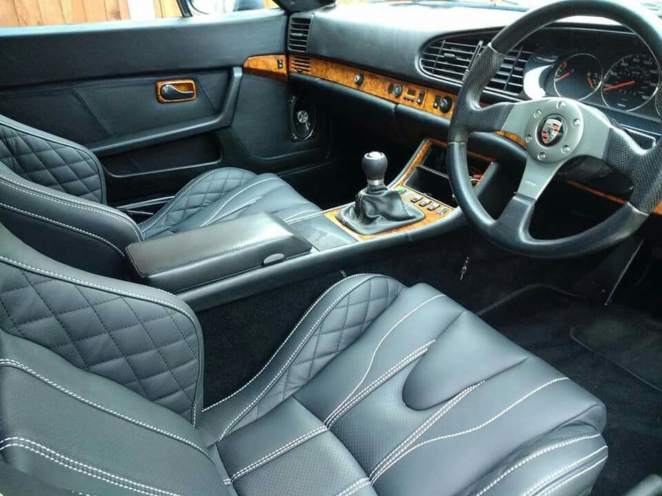 Porsche 944 With Corbeau Residents Seats And Wood Trim Interior Porsche 944 Porsche Custom Trucks