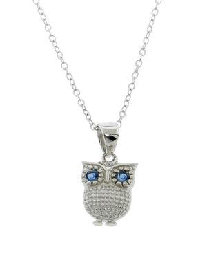 Cute little owl pendant necklace cayla priest davis necklaces 1 cute little owl pendant necklace cayla priest davis aloadofball Image collections
