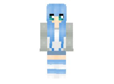 2 ways to install  Cute Bunneh Girl Skin #minecraft #girl #skins   http://niceminecraft.net/tag/girl-skins/