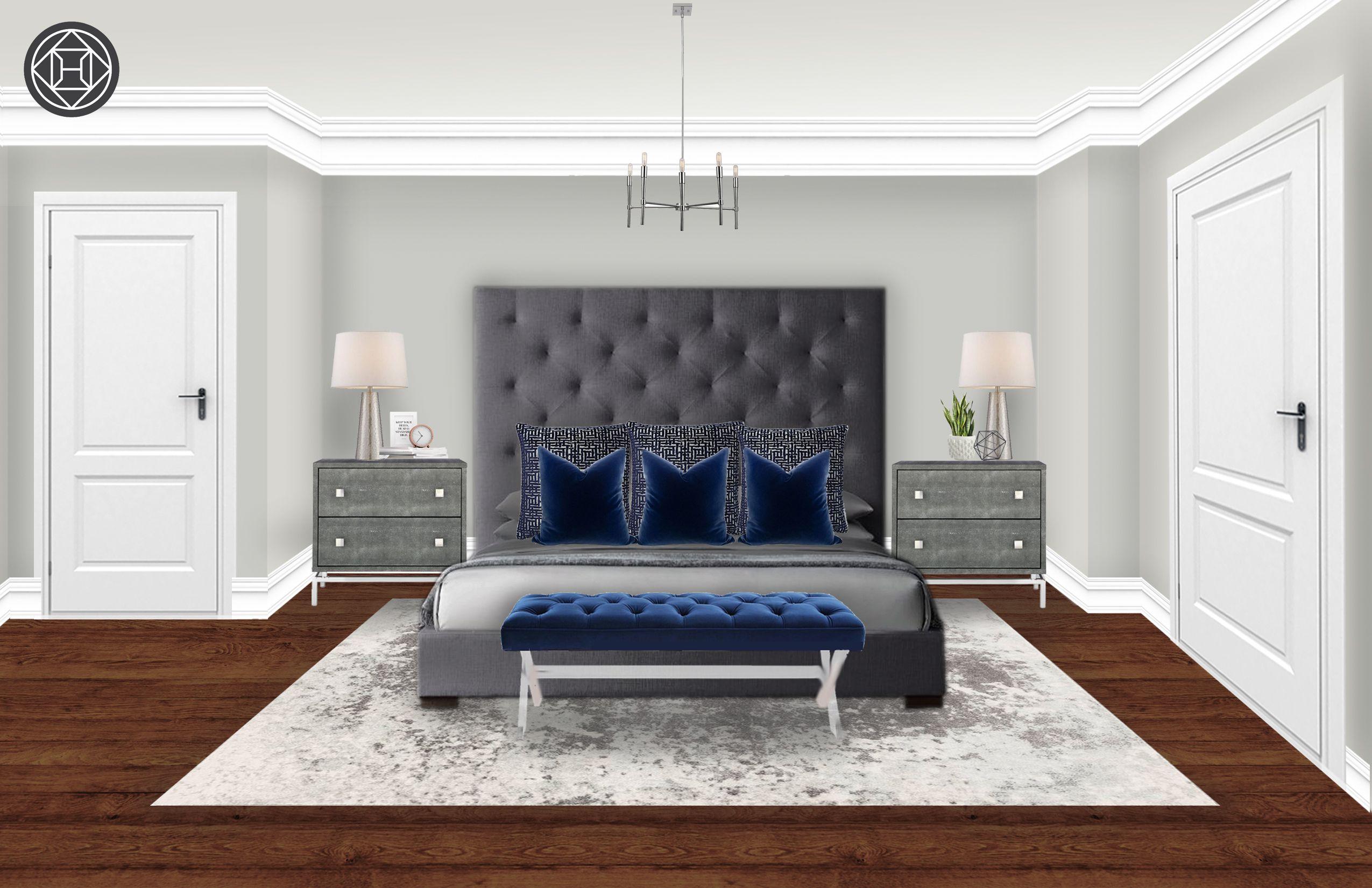 Contemporary Modern Bedroom Design By Havenly Interior Designer