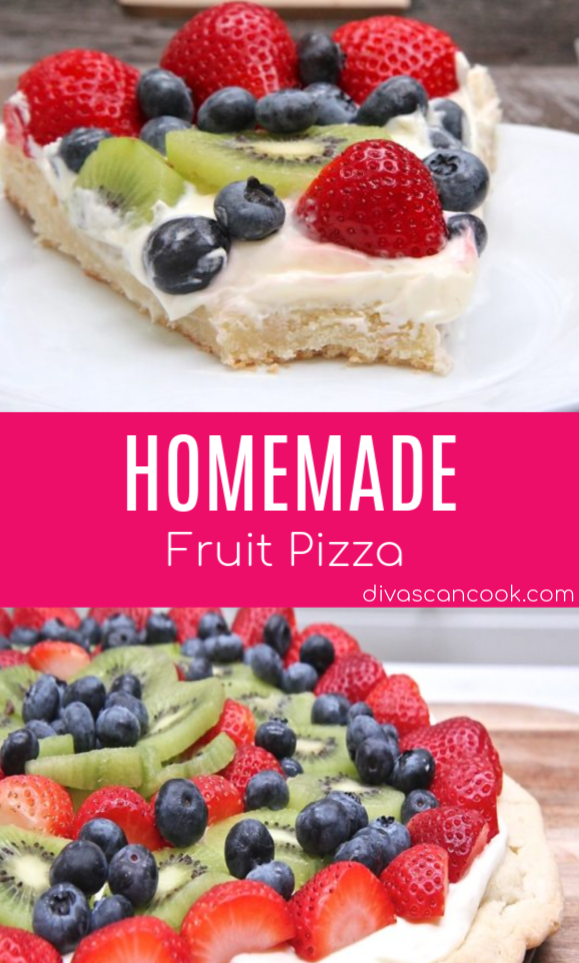 Easy Fruit Pizza Recipe (From-Scratch)