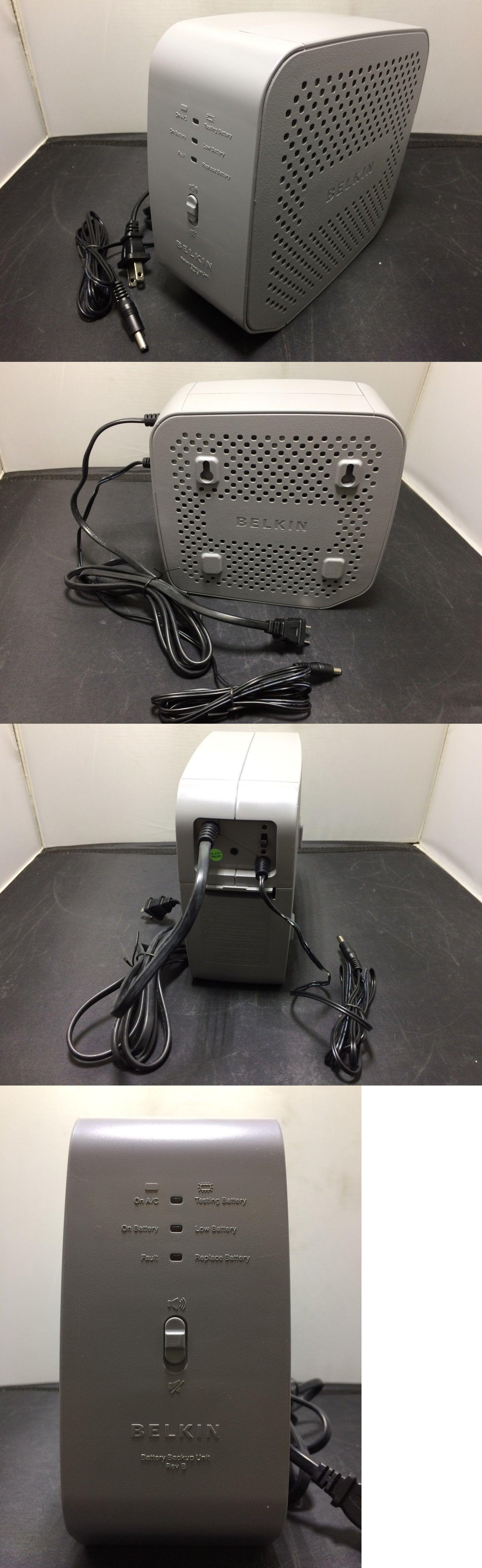 Uninterruptible Power Supplies 99265 Belkin Residential Gateway Rg Battery Backup Rev B 12v Dc Ups Bu3dc0 Battery Backup Belkin Uninterruptible Power Supplies