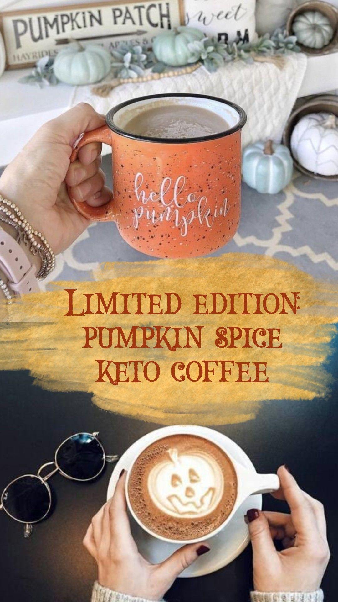 Keto Coffee, Pumpkin Spice, ItWorks #pumpkinspiceketocoffee