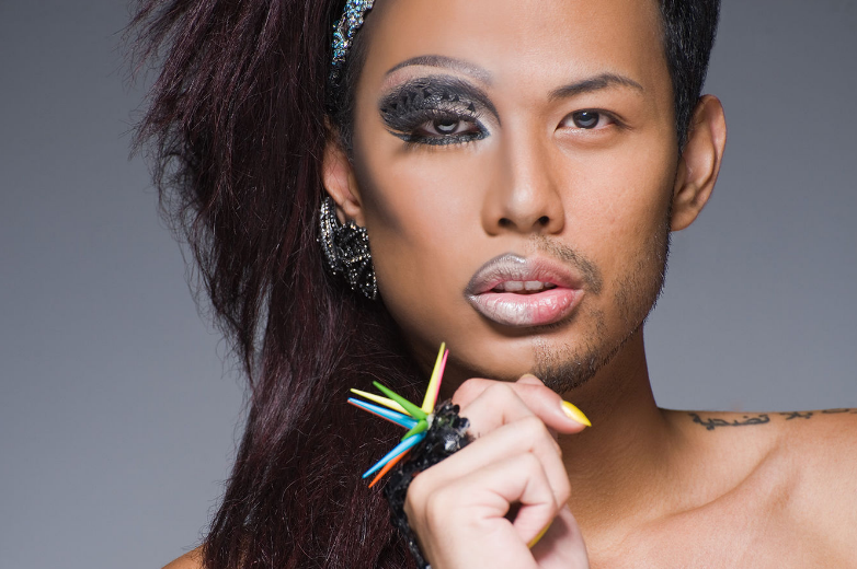 Leland Bobbé Half-Drag … A Different Kind of Beauty