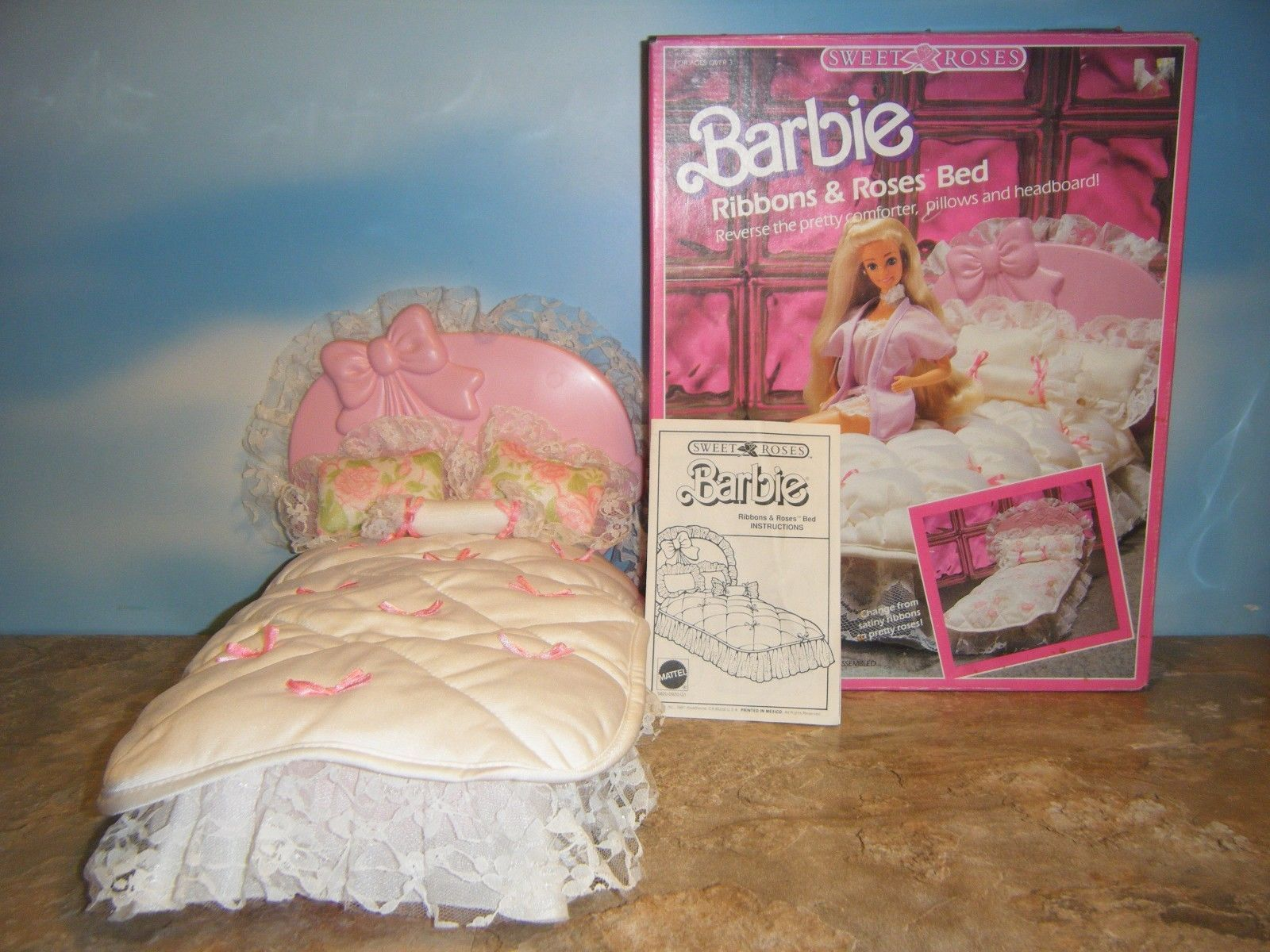 Vintage Supersize Christie Barbie Doll Superstar by BCAVINTAGE