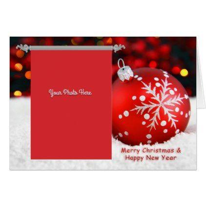 Merry Christmas Card Zazzle Com Merry Christmas Card Polish Christmas Cards Christmas Cards
