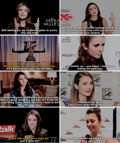 Happy 28th birthday, Nina Dobrev (January 9, 1989) - I think every person needs to feel safe, no matter what their sexual orientation is. No matter what their preferences are, no matter who they are. You should feel safe, you should feel accepted and feel happy. And I think that's the most important thing.