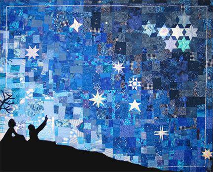 Art Quilts by Aynex Designs | Quilts | Pinterest | Star quilts ... : nature quilt - Adamdwight.com