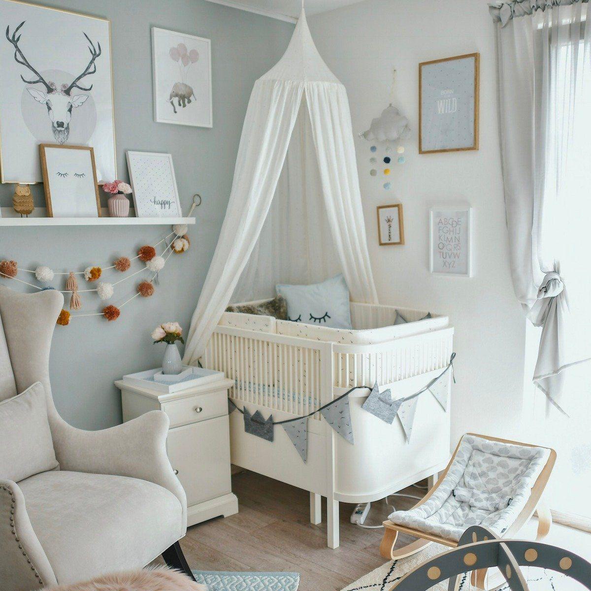Sebra Babybett & Kinderbett mitwachsend & höhenverstellbar