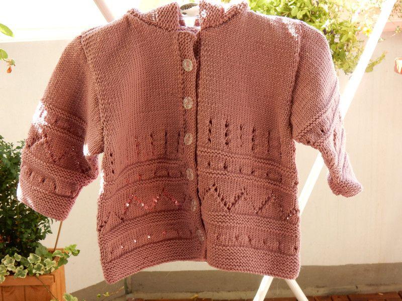Strickjacken Strickjacke Altrosa Grosse 80 100 Schurwolle Ein Designerstuck Von Gaensebluemchen1 Bei Dawanda Fashion Sweaters Cardigan