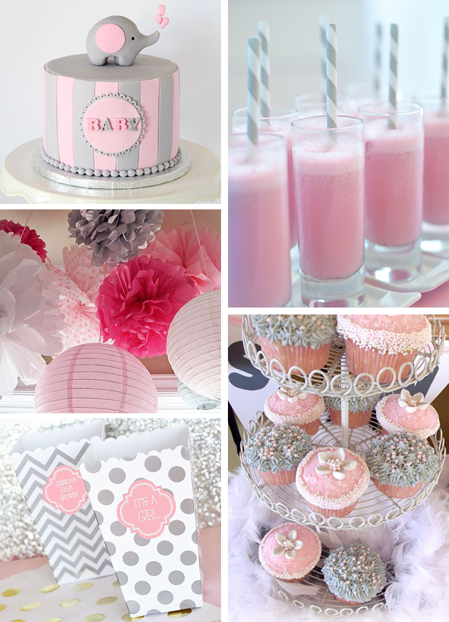 Pink Elephant Baby Shower Ideas | Baby Shower | Pinterest ...