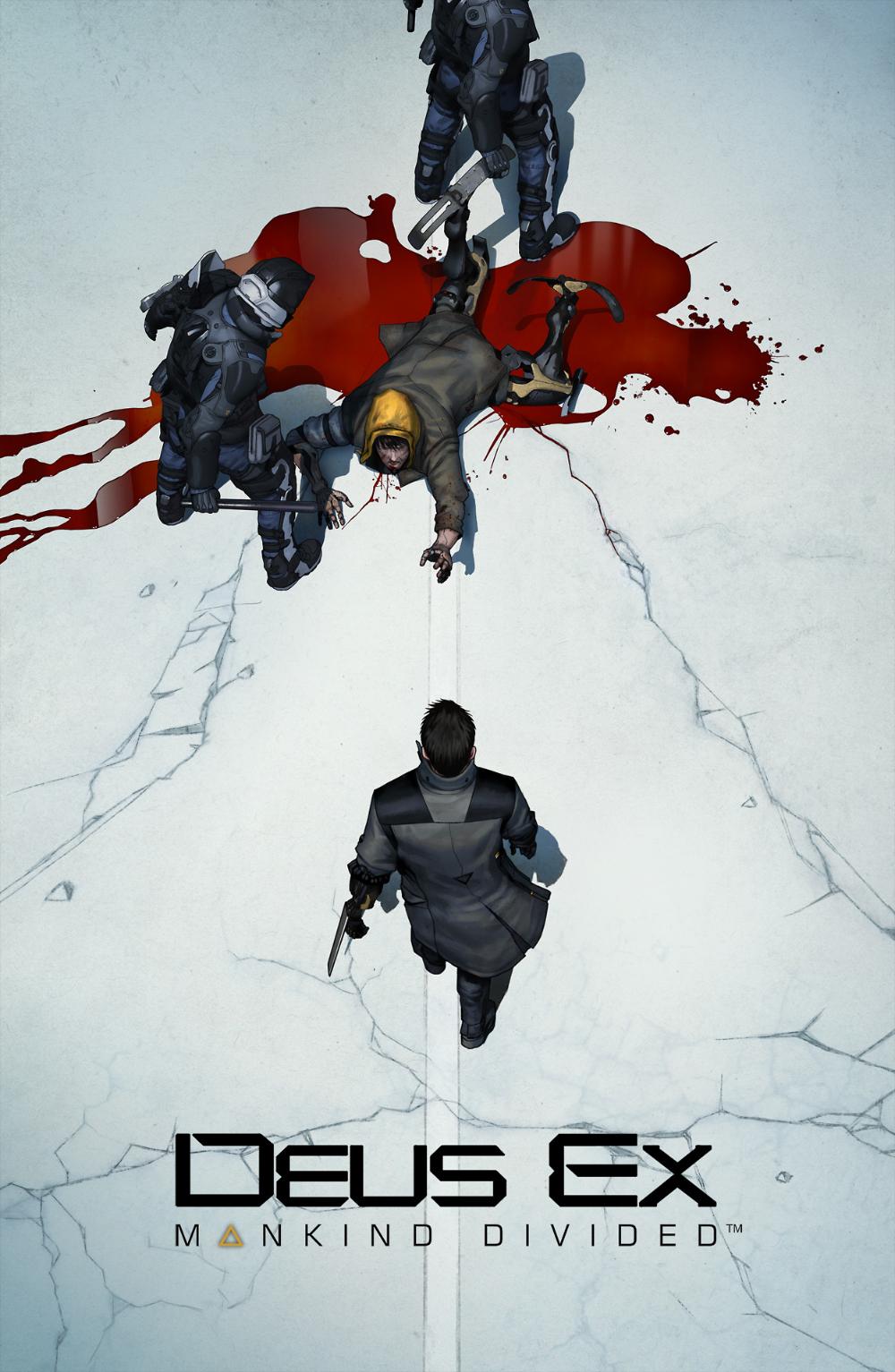 ArtStation Deus Ex Akira Tribute, Frédéric in